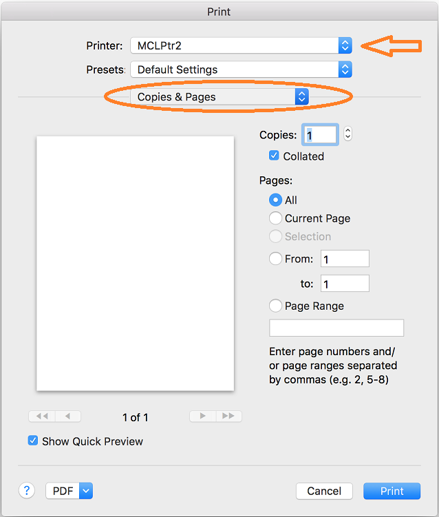 Configuring locked print and adding user code (Mac to Ricoh